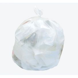 """Standard High Density Natural Can Liner Rolls, 4 Gallon (17"""" x 18""""), 6 Micron - 2000/Case"""