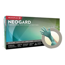 Neogard® Exam Glove Small Chloroprene Powder-Free - 100/Box