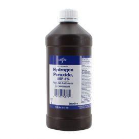 Hydrogen Peroxide 3%, 16 oz Bottle -