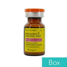 Midazolam 5mg/ml 10ml Vial - 10/Box