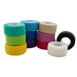 """Co-Ease Cohesive Bandage Assorted Colors 1"""" x 5Yds - 72/Box"""