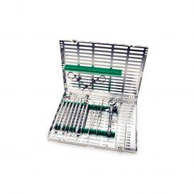 Signature Series® Instrument Cassette (Holds 16 Instruments) Green