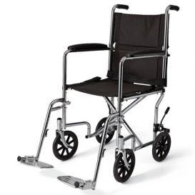 """Wheelchair 19"""" Transport Swing Footrest and Armrest"""