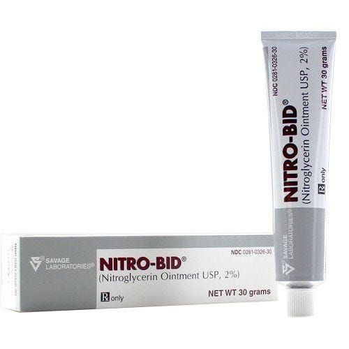 Nitro-Bid Nitroglycerin Ointment 2 30gm Tube | Southern Anesthesia &  Surgical, Inc.