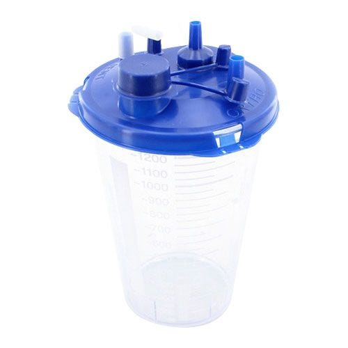 440d2f59b100 Medi-Vac Guardian Disposable Suction Canister 1200 cc | Southern ...