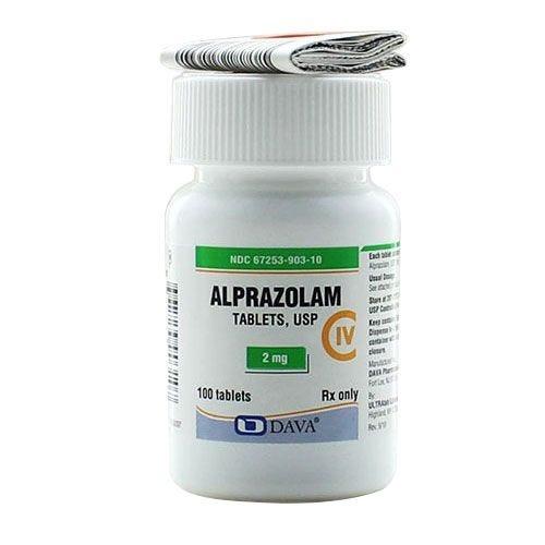 alprazolam xanax 2mg 100 count tablets southern anesthesia