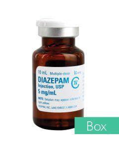 Diazepam (Valium®) 5 mg/ml 10ml Multiple Dose Vial - 10/Box