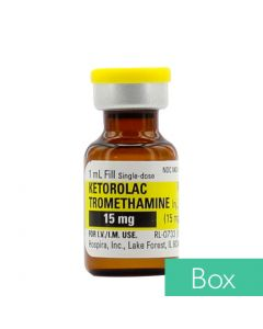 Ketorolac Tromethamine (Toradol®) 15mg/ml 1ml Single Dose Vial - 25/Box