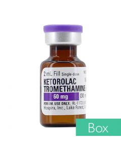 Ketorolac Tromethamine (Toradol®) 30mg/ml (60mg/2ml) 2ml Single Dose Vial - 25/Box