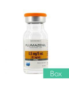 Flumazenil (Romazicon®) 0.1mg/ml 5ml Vial - 10/Box