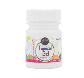 Gelato® Topical Anesthetic Gel, (Benzocaine 20%) 1 oz Jar, Mint