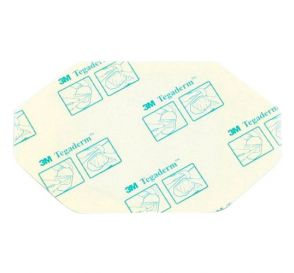 "Tegaderm™ Transparent Dressing, Frame Style w/Label, 2-3/8"" x 2-3/4"""