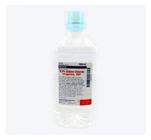 0.9% Sodium Chloride, 1000ml Plastic Pour Bottle for Irrigation