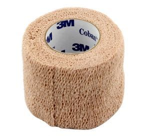 "Coban™ Self-Adherent Wrap, Tan, 2"" x 5 yds"