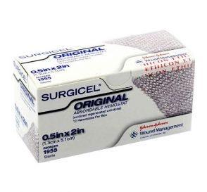 "SURGICEL® Original Absorbable Hemostat 0.5"" x 2"" (1.3cm x 5.1cm)"