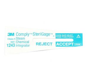 "Comply™ SteriGage™ Steam Chemical Integrator 2"" x ¾"""