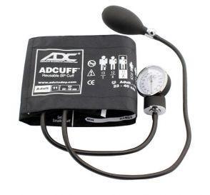 Prosphyg™ 760 Pocket Aneroid Sphyg w/Adult (23-40cm) Adcuff™, Black