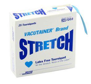 "Vacutainer® Stretch Latex-Free Tourniquet, 18"" x 1"""