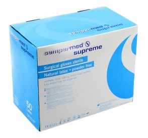 Surgeon Glove 7.5 Latex Powder-Free Supreme Textured