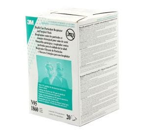 Surgical Mask and Particulate Respirator, N95, Blue