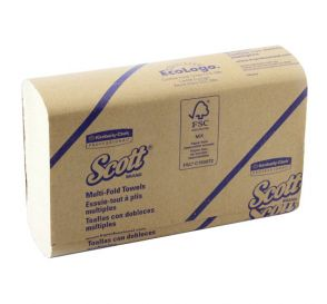"Scott® Multi-Fold Towels, 9.2"" x 9.4"", White"