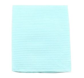 "Professional® Thrift Patient Towels, 2-Ply Tissue, 19"" x 13"", Blue"