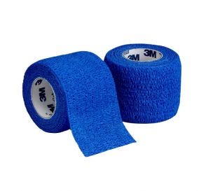 "Coban™ Self-Adherent Wrap, Blue, 2"" x 5yds"