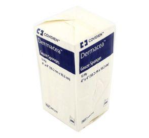 """Dermacea Gauze Non-Sterile 4"""" x 4"""" 12Ply"""