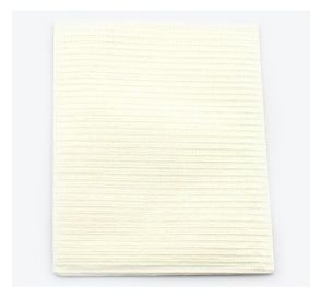 """Sani-Tab® Chain-Free® Patient Towels, 2-Ply Tissue with Poly, 19"""" x 13"""", White"""
