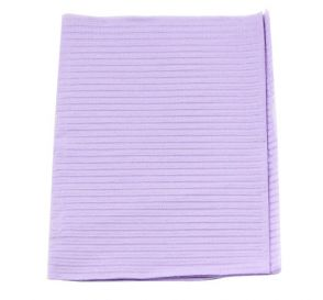 "Econoback® Patient Towels, 2-Ply Tissue with Poly, 19"" x 13"", Lavender"