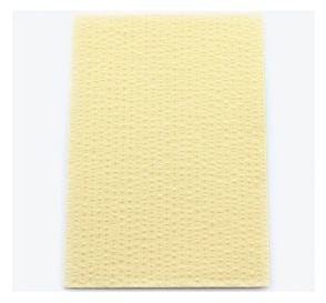 """Advantage Patient Towels, 2-Ply Tissue with Poly, 18"""" x 13"""", Beige"""
