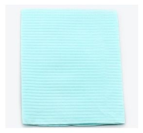 "Proback® Patient Towels, Extra Heavy Tissue with Poly, 19"" x 13"", Blue"
