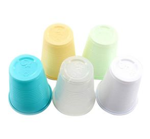 Plastic Cups, 5 oz, Clear/Translucent
