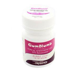 GumNumb® Topical Anesthetic Gel (20% Benzocaine) 1 oz Jar, Bubble Gum