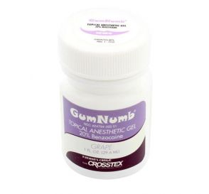 GumNumb® Topical Anesthetic Gel (20% Benzocaine) 1 oz Jar, Grape