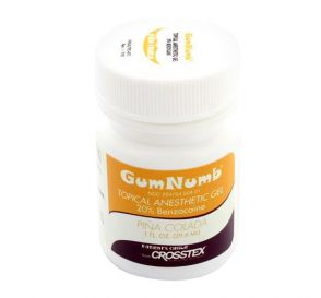 GumNumb® Topical Anesthetic Gel (20% Benzocaine) 1 oz Jar, Piña Colada