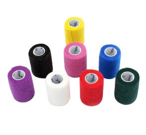 "Co-Ease Cohesive Bandage Assorted Colors 3"" x 5Yds"
