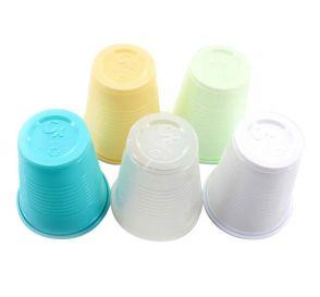 Plastic Cups, 5 oz, Green