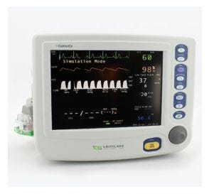 nGenuity® Patient Monitor w/ECG SpO2, NIBP & Respiratory Rate