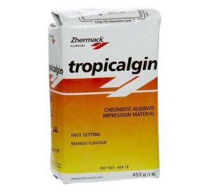 Tropicalgin Alginate Fast Set Refill 453g (1 lb) Bag Mango Flavor