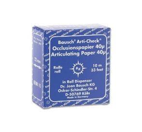 Arti-Check® Articulating Paper Blue 40 Micron