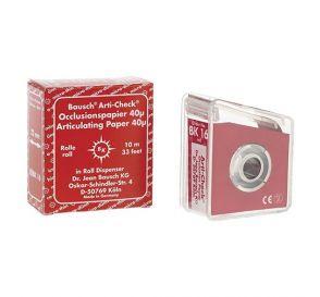 Arti-Check® Articulating Paper Red 40 Micron