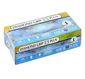 Diamond Grip Plus™ Exam Glove, Large, Latex, Powder-Free