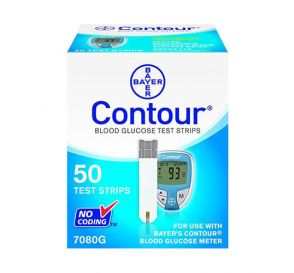 Contour Glucose Blood Strips