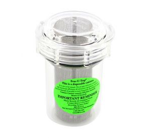 """Evac-u-Trap® Disposable Canister for Central Vacuum Pumps, 2 3/4""""W x 3 5/8""""H"""
