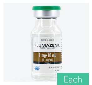 Flumazenil (Romazicon®) 0.1mg/ml 10ml Vial