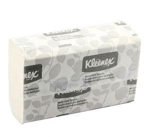 "Kleenex® Multi-Fold Towels, 9.2"" x 9.4"", White"