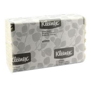"Kleenex® C-Fold Towels, 10.125"" x 13.15"", White"