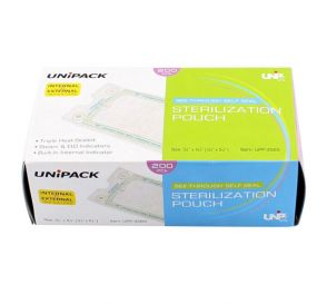 """See-Through Self Seal Sterilization Pouch, 3 1/2"""" x 5 ¼"""", 200/Box"""