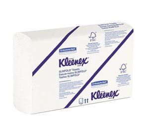"KLEENEX® SLIMFOLD* Towels, 7.5"" x 11.6"", White, 90/Pack, 24 Packs/Case"